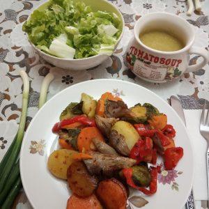 zelencuk salata supa